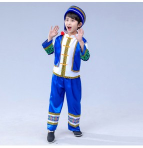 classical traditional chinese dance costumes for boy children miao hmong clothes traditional hmong clothes china national clothing